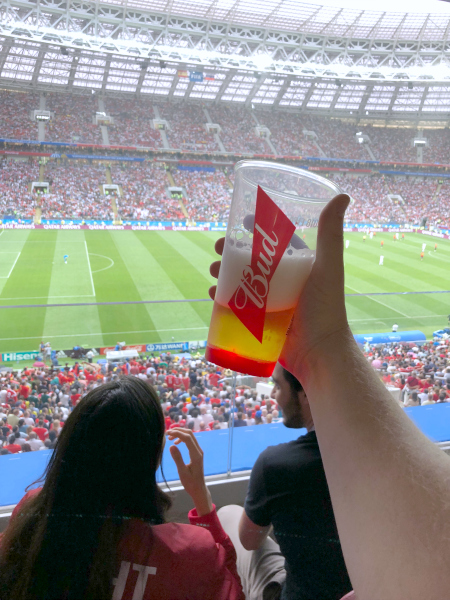 Budweiser World Cup Campaign - Light Up Cups