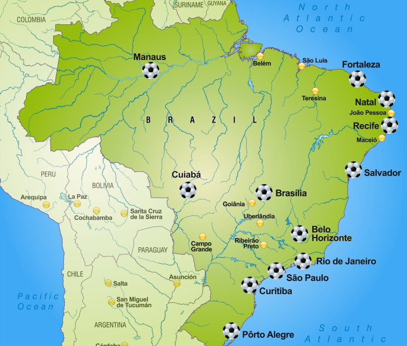Will the us mens national team burn up at world cup 2014 the18 map of brazil world cup soccer stadiums gumiabroncs Images