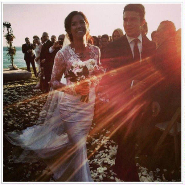 Alex Morgan and Servando Carrasco Wedding