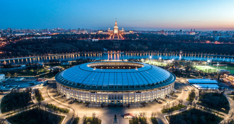 World Cup 2018 New Stadiums