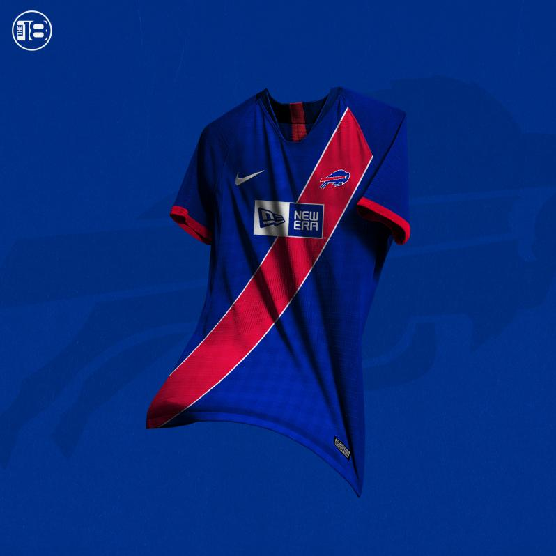 online retailer c3702 5f443 What If NFL Teams Had Soccer Jerseys? We Designed Kits For ...
