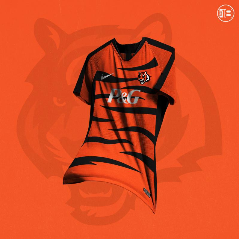 What If NFL Teams Had Soccer Jerseys  We Designed Kits For All 32 Teams 7830a18c2
