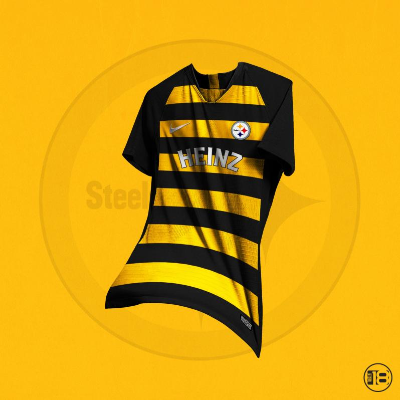 Pittsburgh Steelers Soccer Jerseys