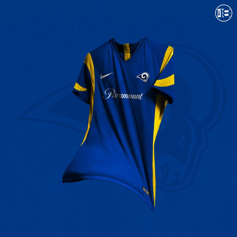 Los Angeles Rams Soccer Jersey