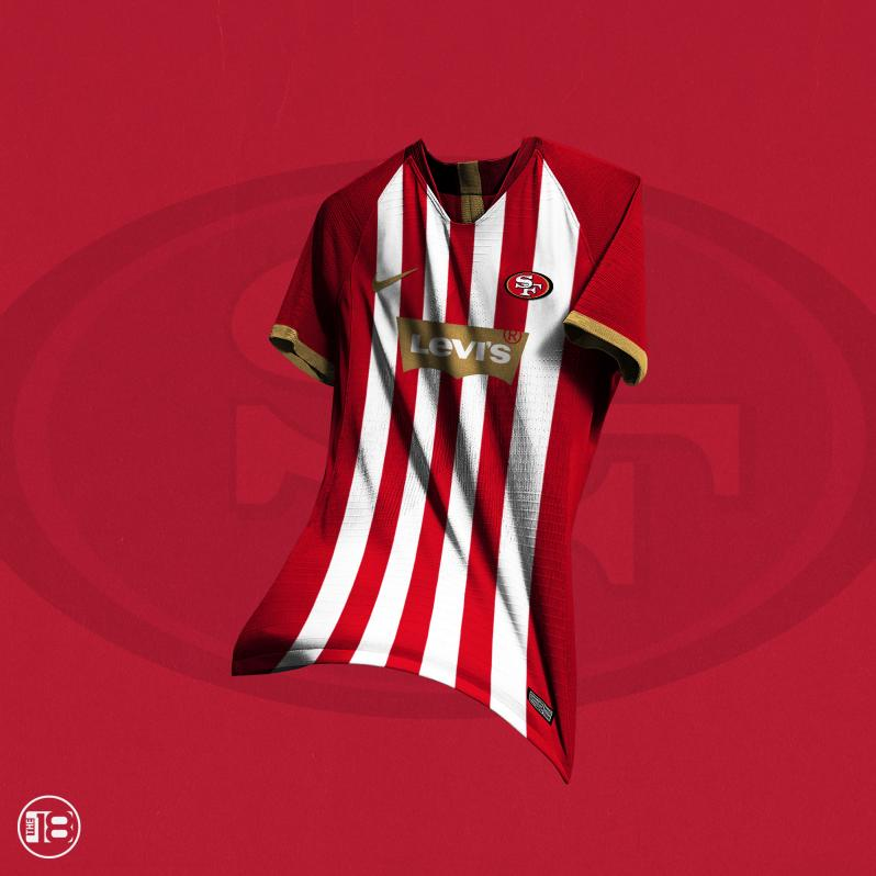 San Francisco 49ers Soccer Jersey