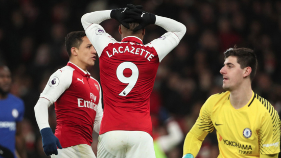 Alexandre Lacazette disappointed