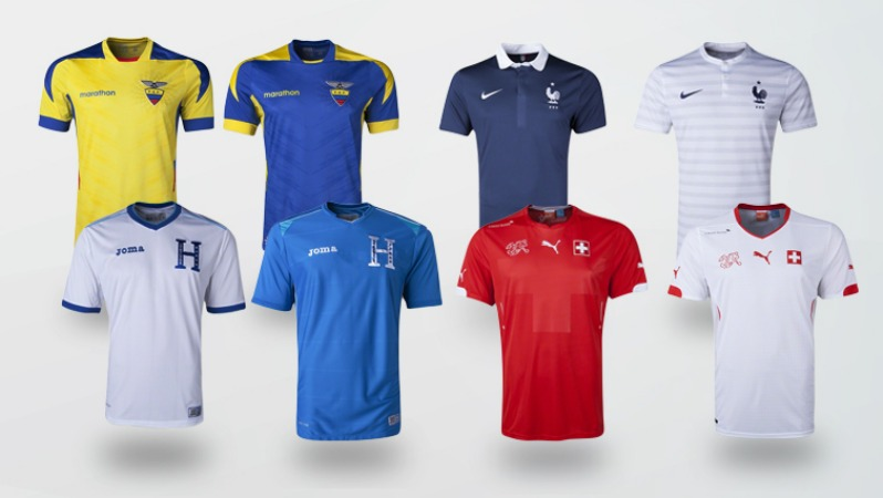 World Cup Jerseys Group E