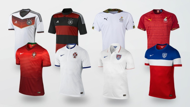 World Cup Jersey Group G