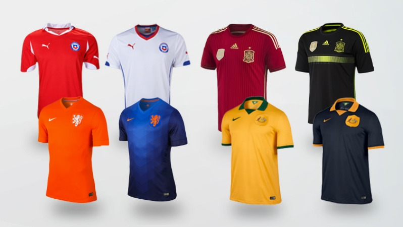 World Cup Jersey Group B
