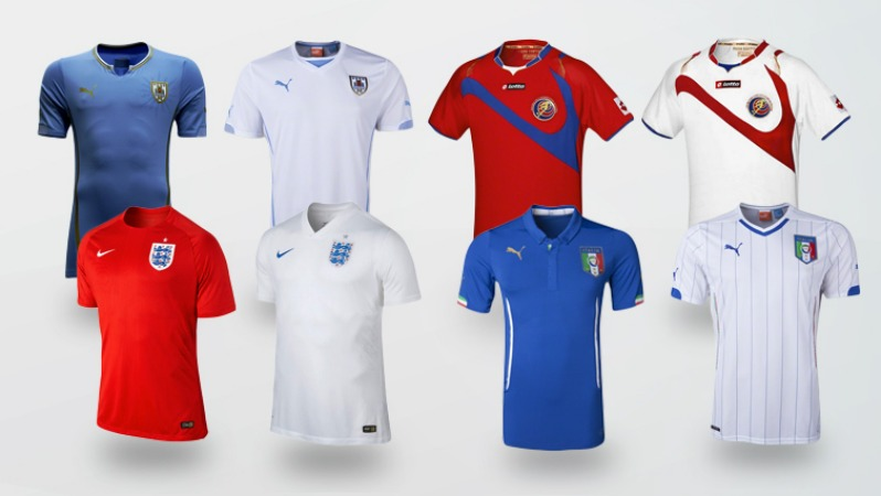 World Cup Jersey Group D