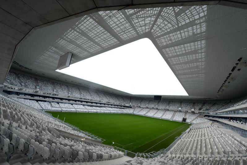 pictures of amazing stadiums, bordeaux inside
