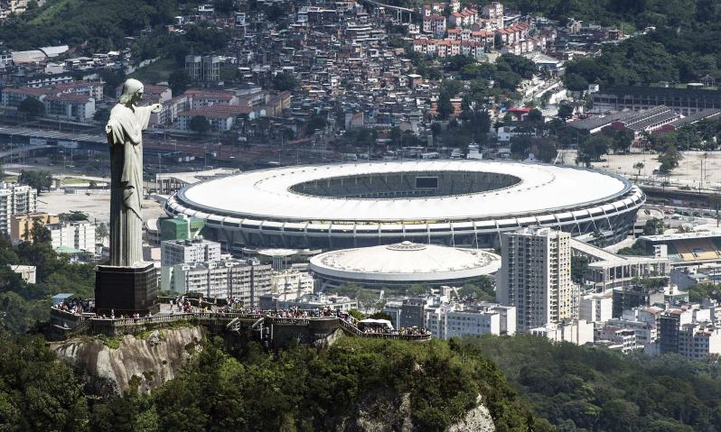 pictures of amazing stadiums, maracana arial