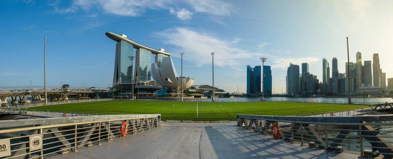 pictures of amazing stadiums, marina bay street view