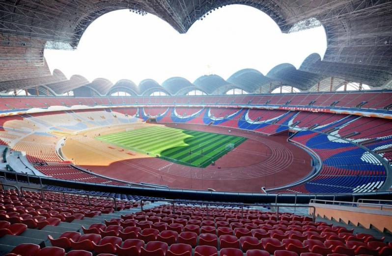 pictures of amazing stadiums, rungrado inside