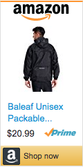 Soccer Gifts For Coaches - Baleaf Unisex Packable Poncho
