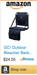 Best Soccer Gifts For Coaches - Bleacher Back Seat Cushion
