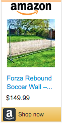 Best Soccer Gifts For Coaches - Forza Soccer Rebound Wall
