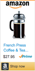 Best Soccer Gifts - French Press Coffee Maker