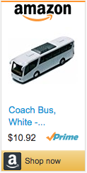 Funniest Soccer Gifts - Model Bus