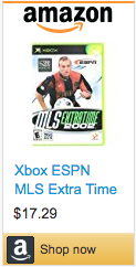 Best Soccer Gifts - MLS Extra Time 2002