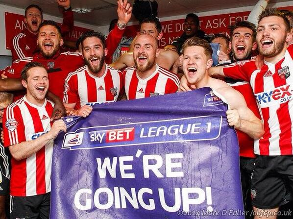 brentford promoted