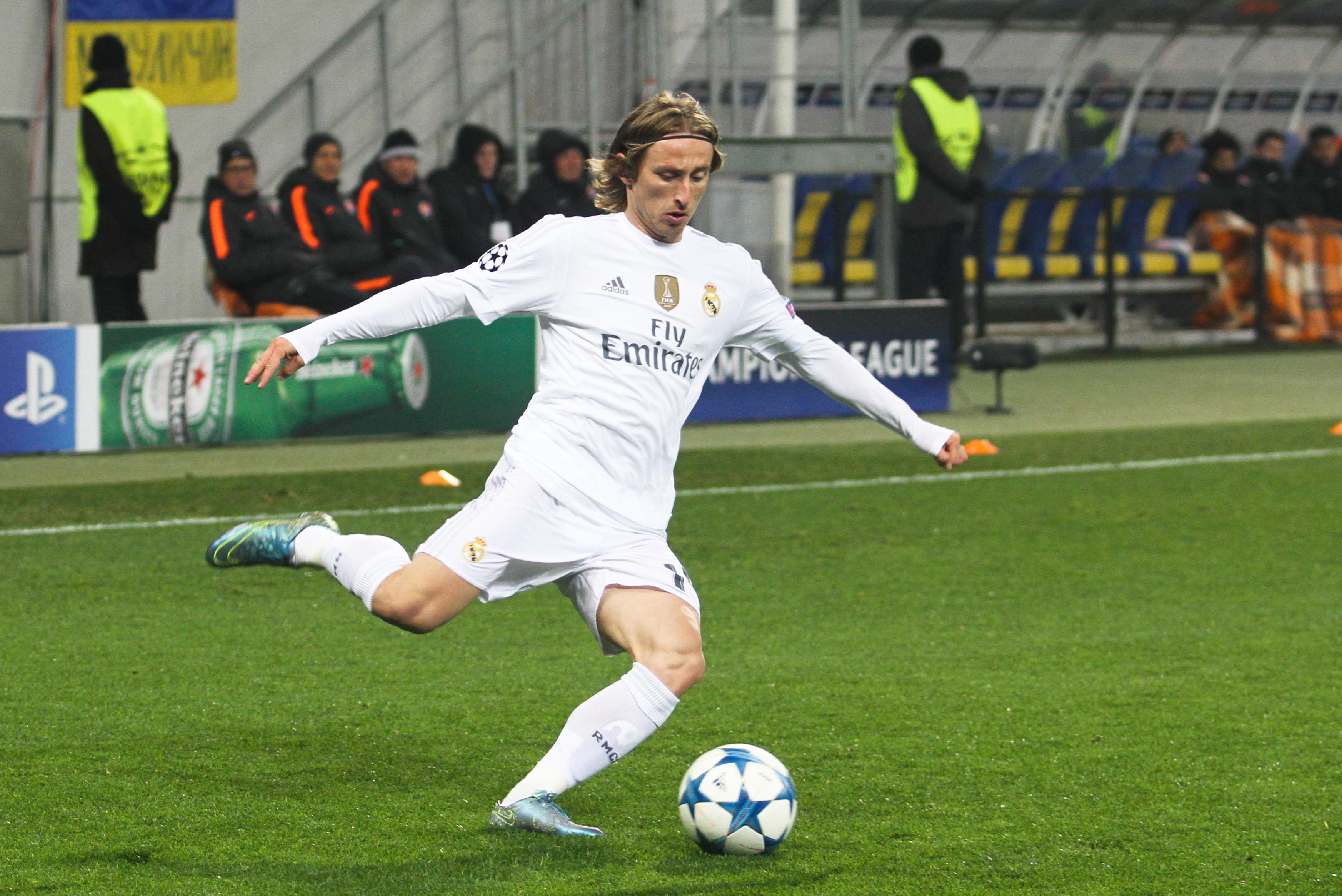 Luka Modric Makes Real Madrid Go