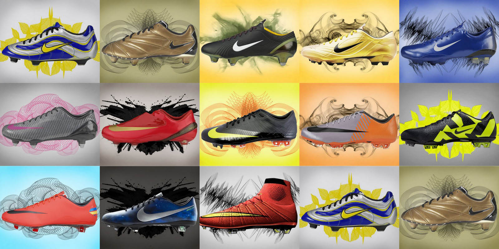 031f083f8944 Look At The Evolution Of The Nike Mercurial Boot