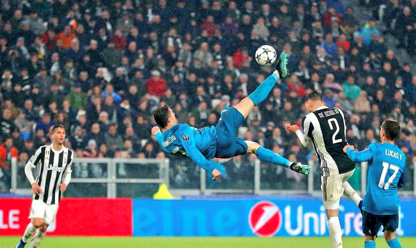 Watch All Of Cristiano Ronaldo Bicycle Kick Attempts